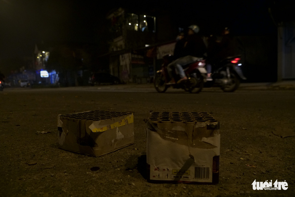 No firecrackers exploded in the sky for dozens of minutes after New Year's Eve - Photo 2.