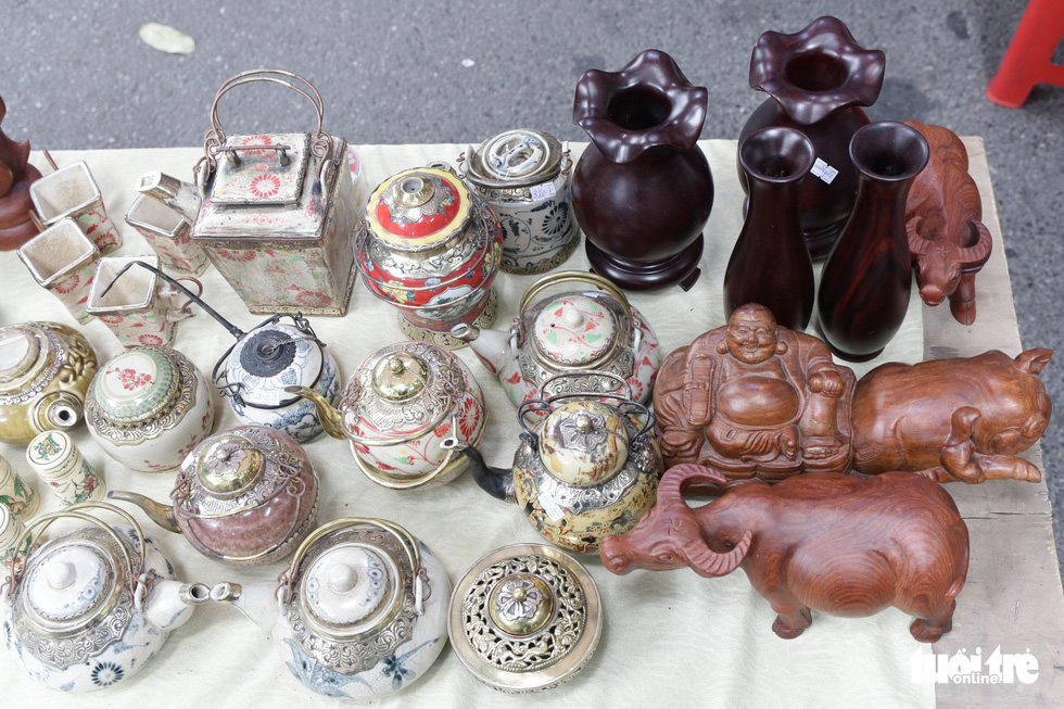 Đi chợ Hàng Lược 500 năm tuổi - Ảnh 8.