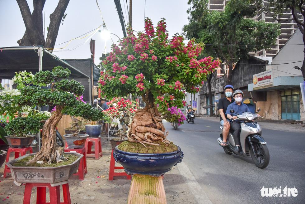 Thuyền hoa cập Bến Bình Đông chở tết đến Sài Gòn - Ảnh 8.