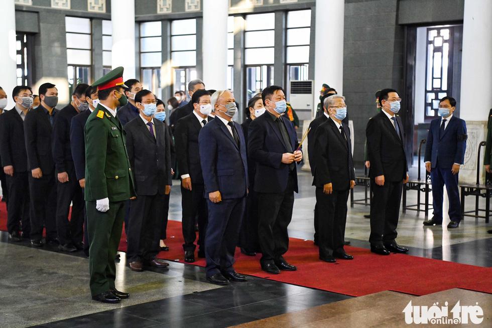 Lễ viếng nguyên Phó thủ tướng Trương Vĩnh Trọng tại Bến Tre và Hà Nội - Ảnh 11.