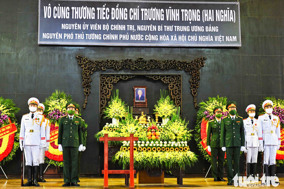 Party and State leaders visit former Deputy Prime Minister Truong Vinh Trong - Photo 3.