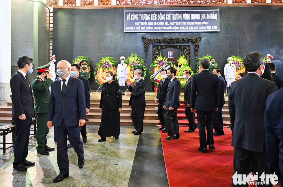 Party and State leaders visit former Deputy Prime Minister Truong Vinh Trong - Photo 8.