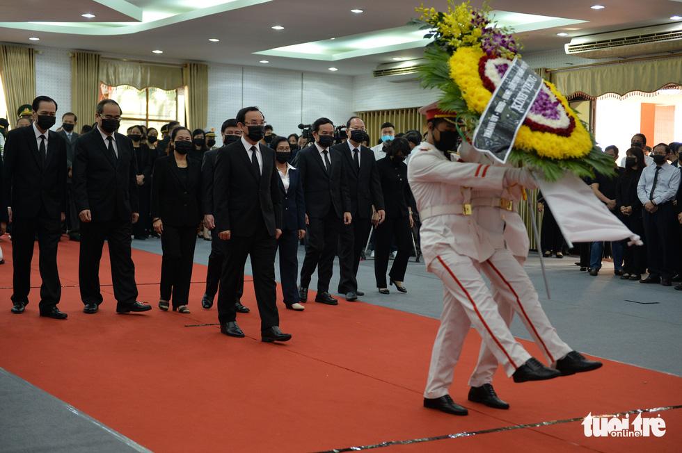 Lễ viếng nguyên Phó thủ tướng Trương Vĩnh Trọng tại Bến Tre và Hà Nội - Ảnh 7.