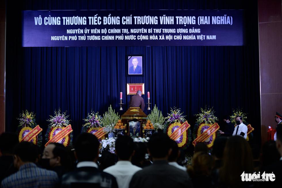 Lễ viếng nguyên Phó thủ tướng Trương Vĩnh Trọng tại Bến Tre và Hà Nội - Ảnh 9.