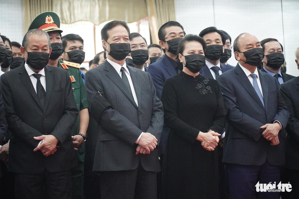Lễ viếng nguyên Phó thủ tướng Trương Vĩnh Trọng tại Bến Tre và Hà Nội - Ảnh 1.