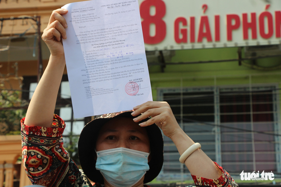Người Hà Nội chung tay giải cứu nông sản Hải Dương - Ảnh 2.