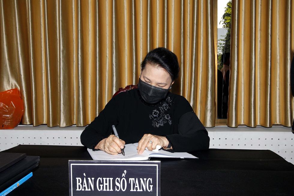 Lễ viếng nguyên Phó thủ tướng Trương Vĩnh Trọng tại Bến Tre và Hà Nội - Ảnh 6.