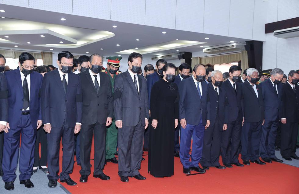 Lễ viếng nguyên Phó thủ tướng Trương Vĩnh Trọng tại Bến Tre và Hà Nội - Ảnh 2.