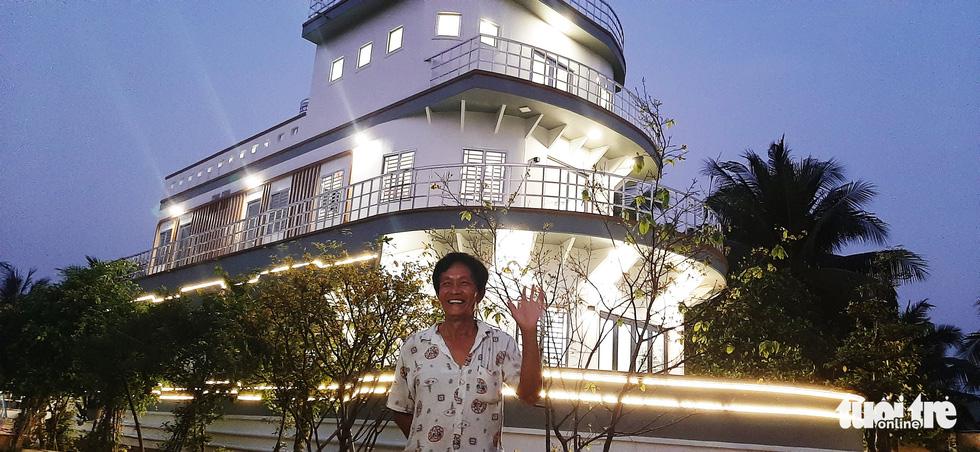 Quá mê du thuyền, nông dân miền Tây chi 5 tỉ đồng xây 'nhà du thuyền' độc đáo - Ảnh 12.