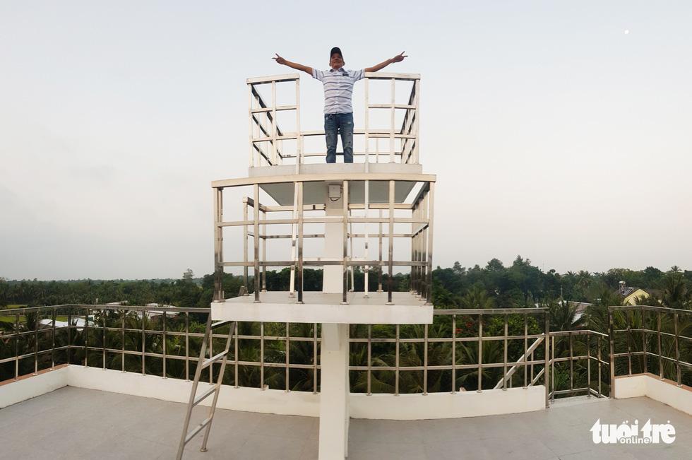 Quá mê du thuyền, nông dân miền Tây chi 5 tỉ đồng xây 'nhà du thuyền' độc đáo - Ảnh 9.
