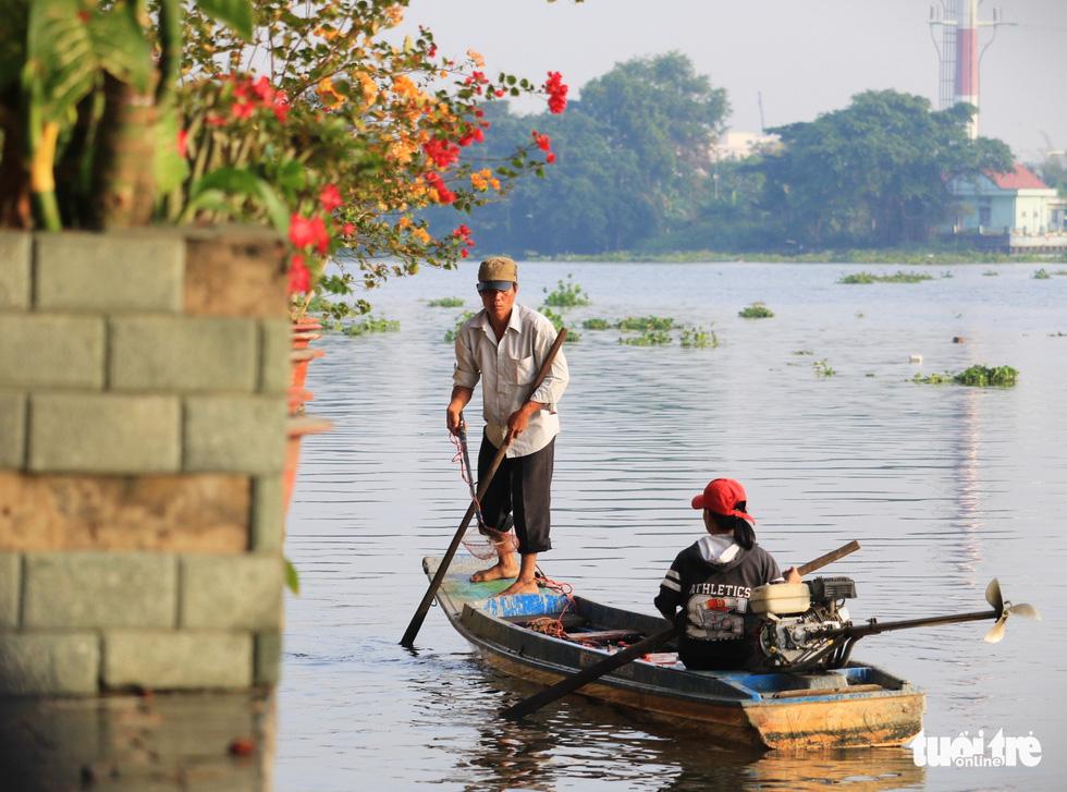 Lo cá phóng sinh 'chầu trời', người dân ra giữa sông Sài Gòn thả - Ảnh 3.