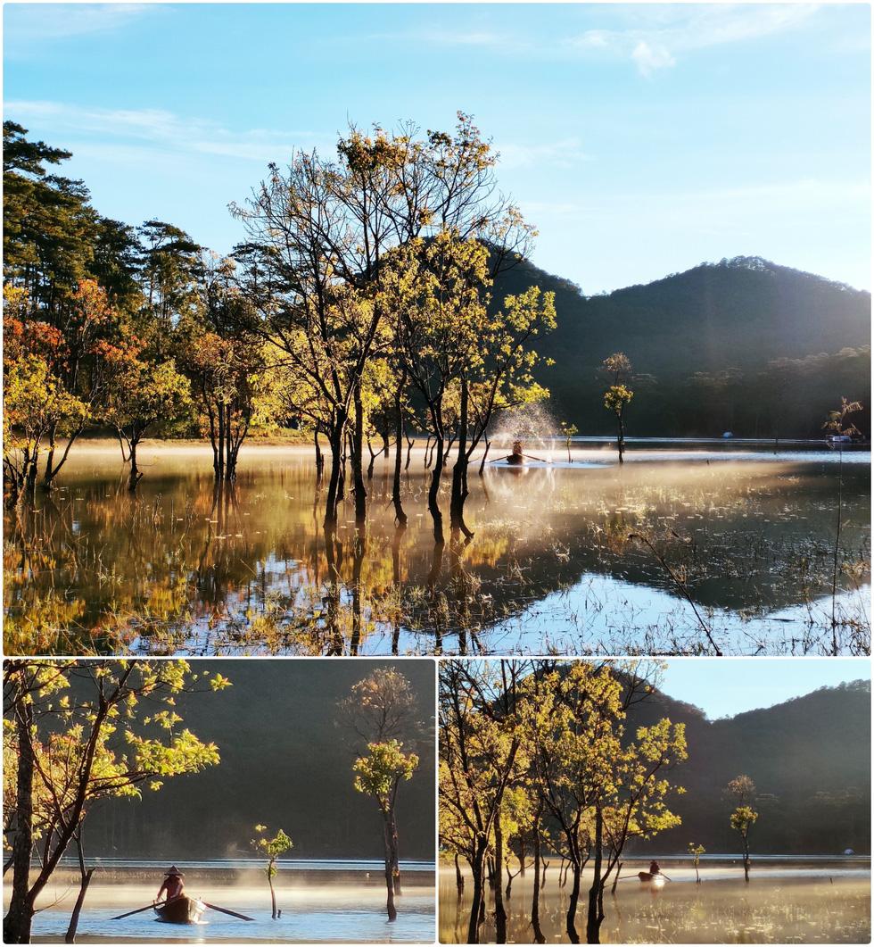 Ngôi làng rực rỡ hoa đào ở Lâm Đồng qua ống kính OPPO Reno5 - Ảnh 11.
