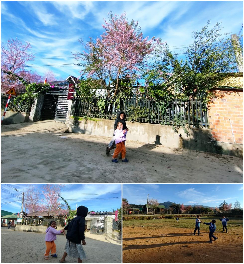 Ngôi làng rực rỡ hoa đào ở Lâm Đồng qua ống kính OPPO Reno5 - Ảnh 5.