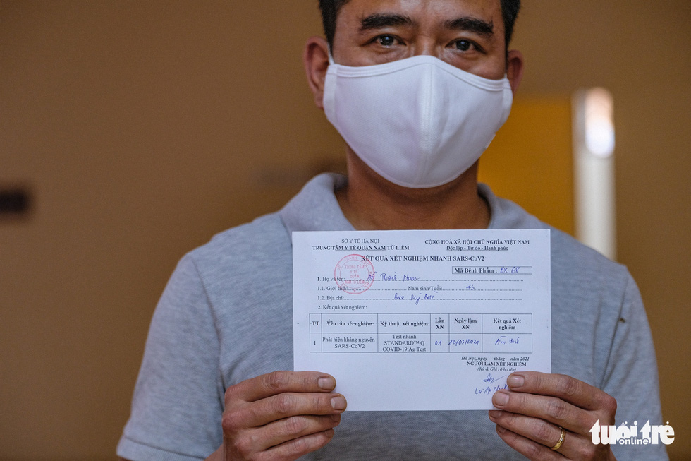Hà Nội xét nghiệm nhanh COVID-19 cho 4.000 người nguy cơ cao - Ảnh 8.
