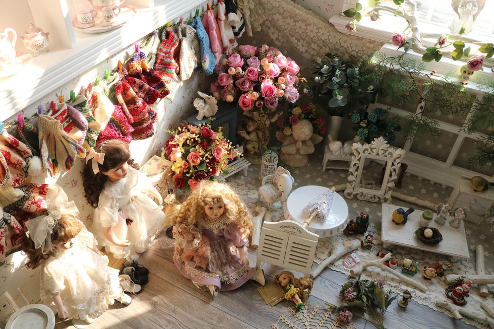 Ngắm căn nhà handmade nhỏ xinh giữa lòng Sài Gòn - Ảnh 8.