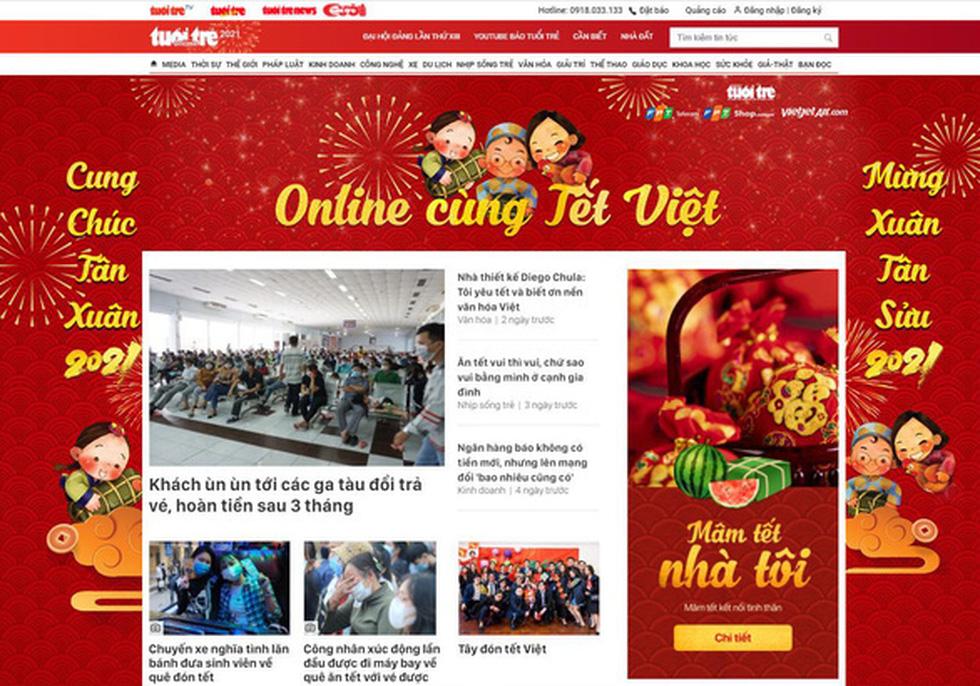 Tổng kết chương trình Online cùng Tết Việt và trao giải cuộc thi Tết xưa - Tết nay - Ảnh 1.