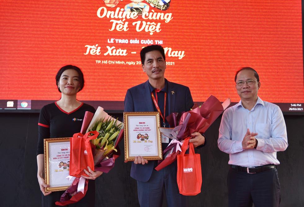Tổng kết chương trình Online cùng Tết Việt và trao giải cuộc thi Tết xưa - Tết nay - Ảnh 15.