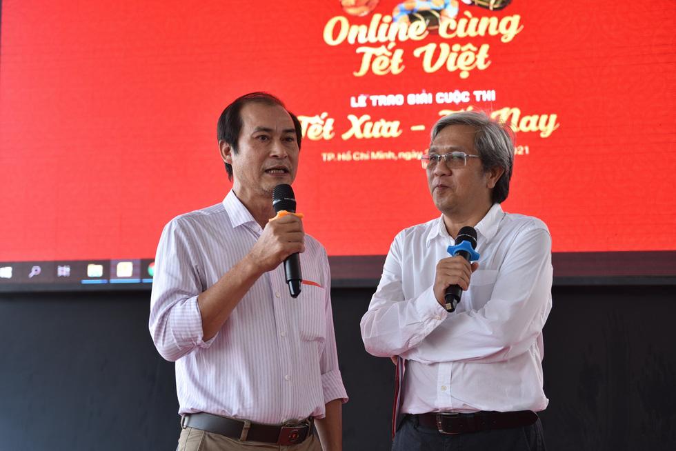 Tổng kết chương trình Online cùng Tết Việt và trao giải cuộc thi Tết xưa - Tết nay - Ảnh 12.