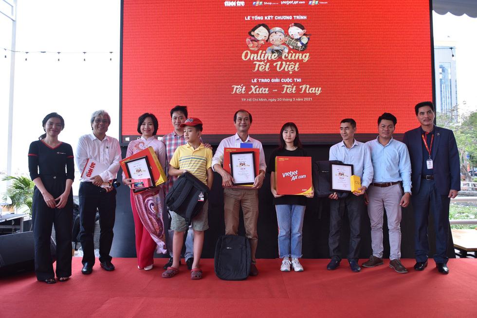 Tổng kết chương trình Online cùng Tết Việt và trao giải cuộc thi Tết xưa - Tết nay - Ảnh 9.