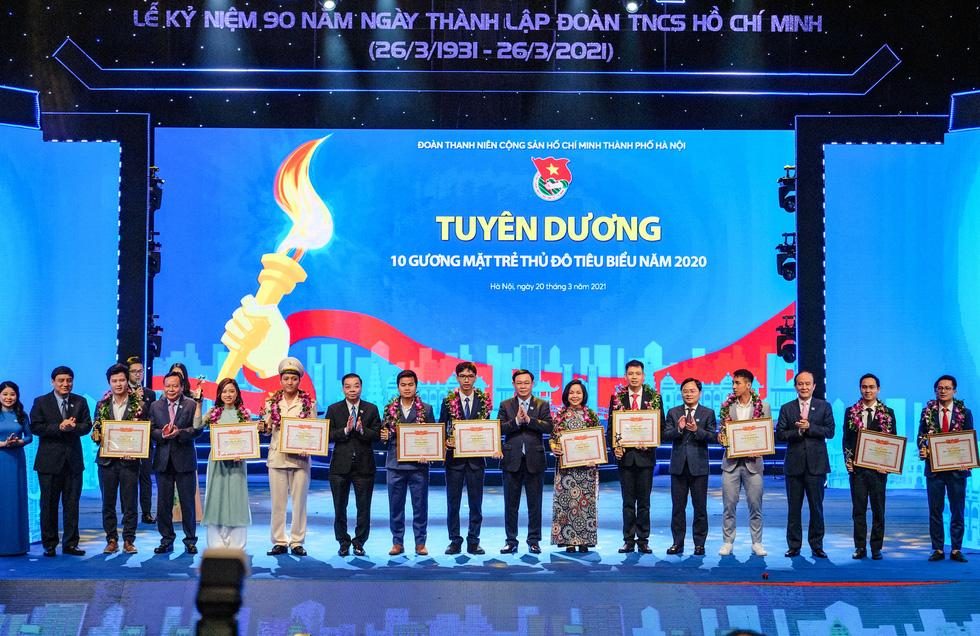 Thành đoàn Hà Nội đón nhận Huân chương Lao động hạng nhất - Ảnh 3.