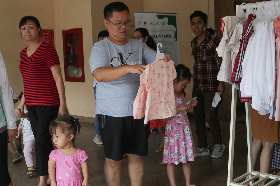 Đổi cũ lấy mới giúp trẻ em khó khăn - Ảnh 3.