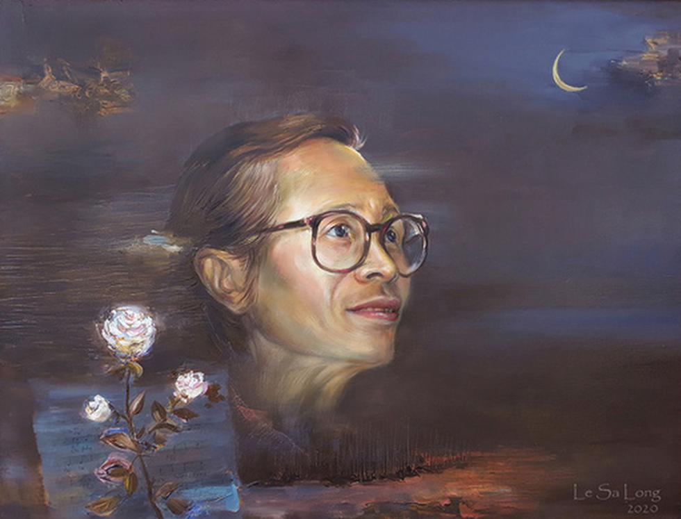 Dùng hội họa chuyển tải nhạc Trịnh - Ảnh 4.