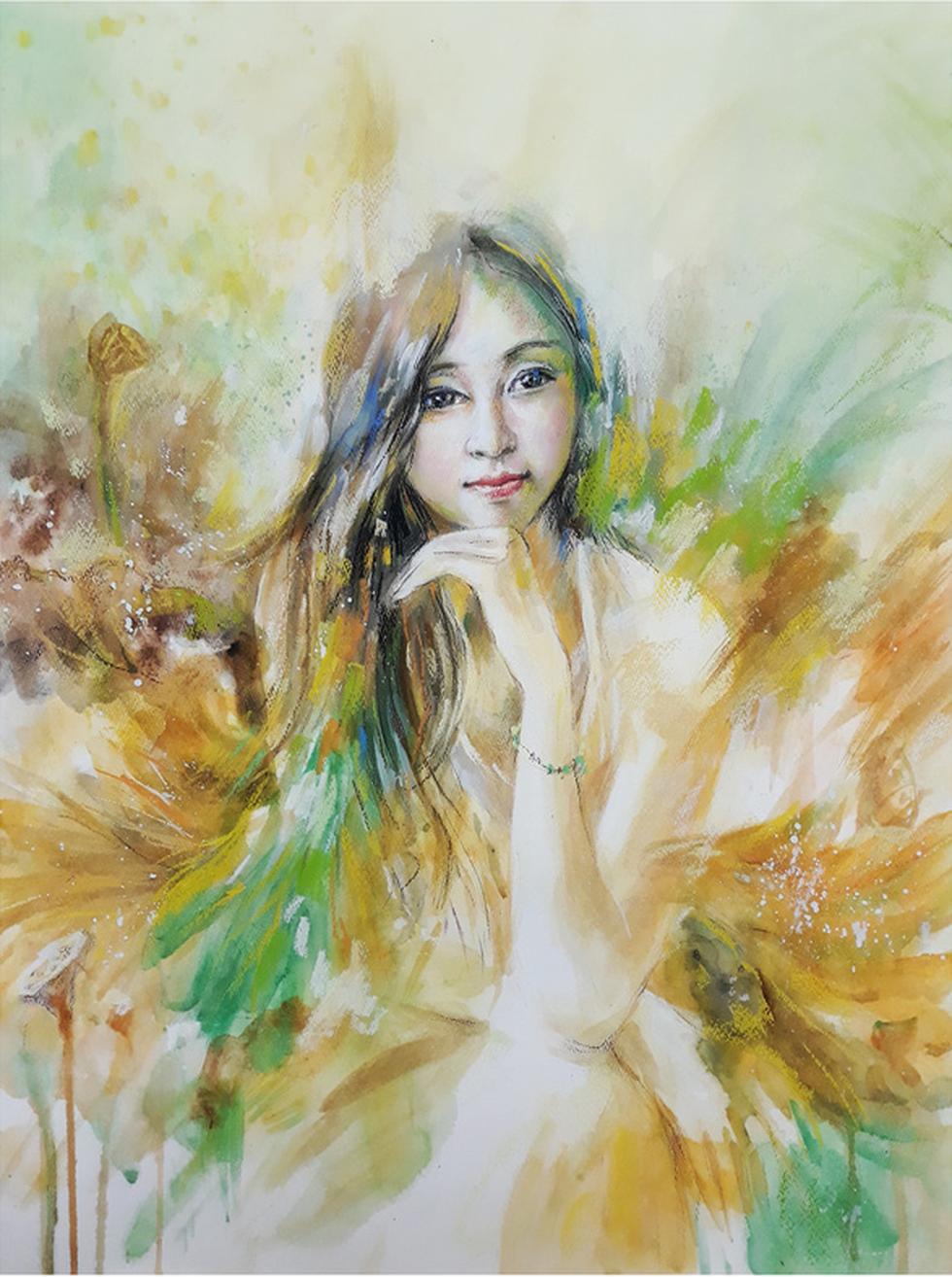 Dùng hội họa chuyển tải nhạc Trịnh - Ảnh 6.