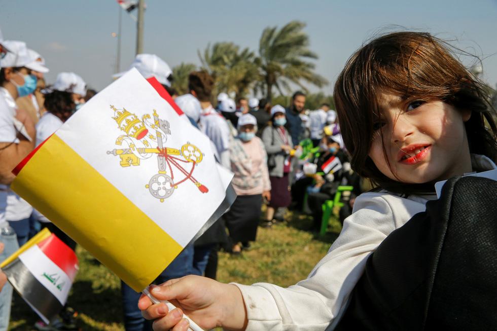 Giáo hoàng Francis đến thăm Iraq - Ảnh 7.