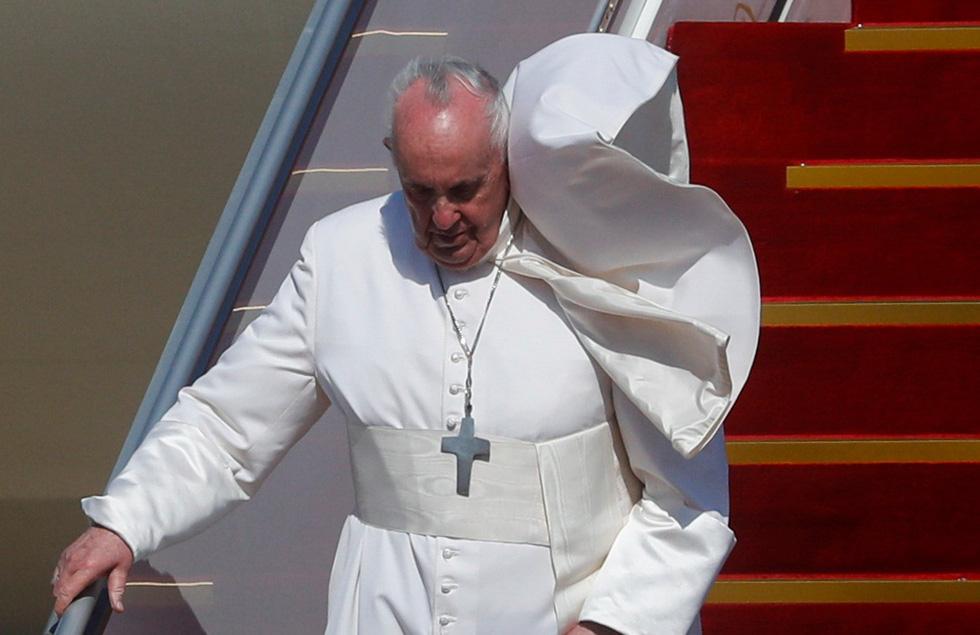 Giáo hoàng Francis đến thăm Iraq - Ảnh 1.