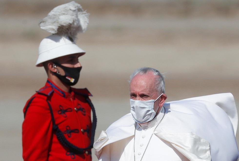 Giáo hoàng Francis đến thăm Iraq - Ảnh 4.
