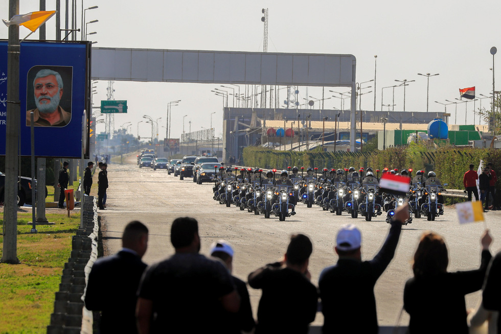 Giáo hoàng Francis đến thăm Iraq - Ảnh 6.
