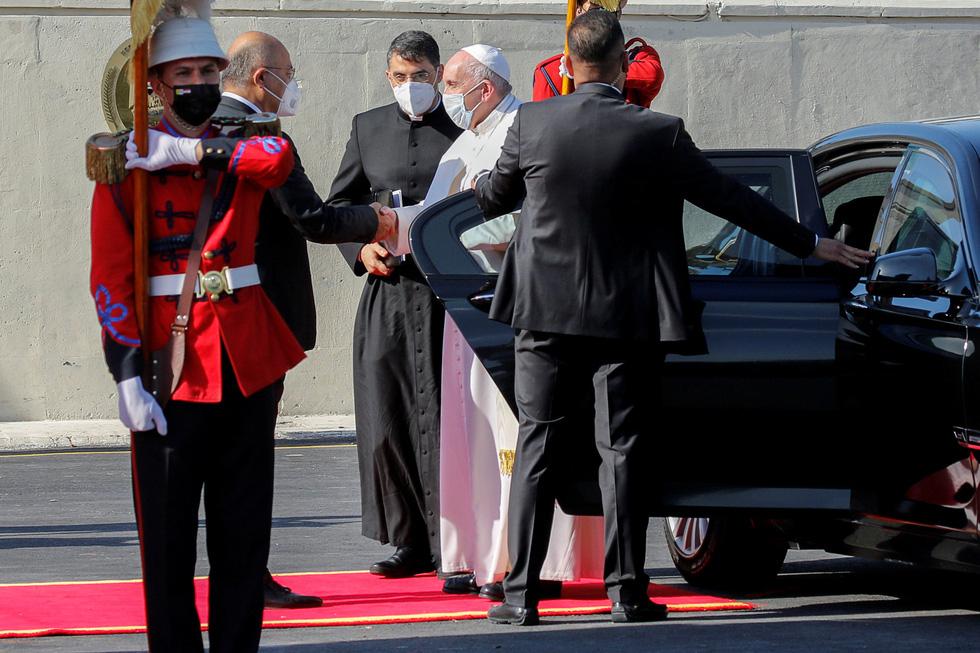 Giáo hoàng Francis đến thăm Iraq - Ảnh 5.