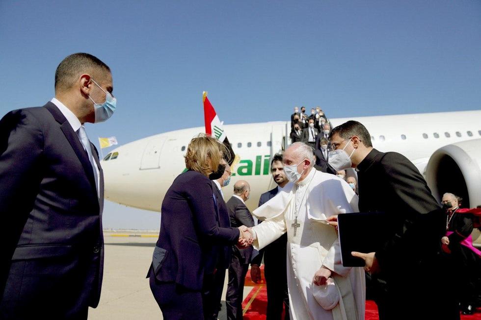 Giáo hoàng Francis đến thăm Iraq - Ảnh 2.