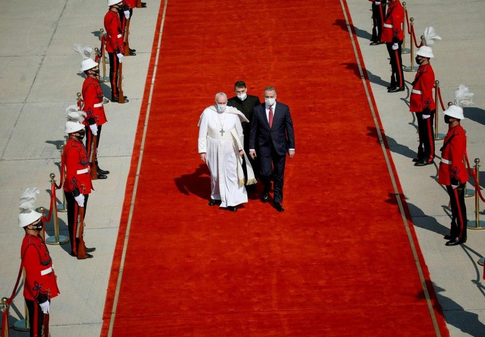Giáo hoàng Francis đến thăm Iraq - Ảnh 3.