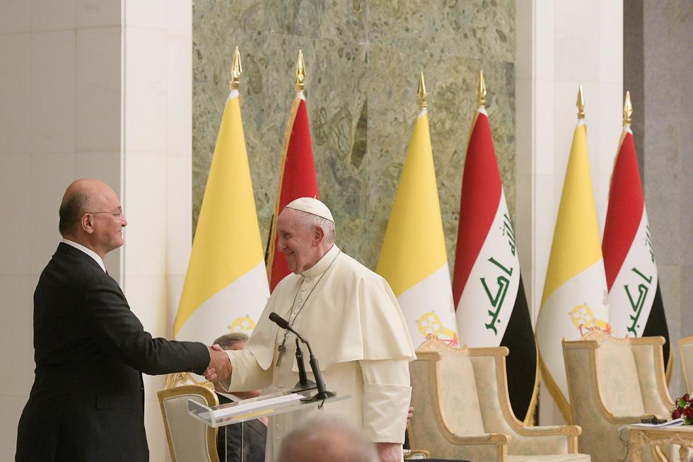 Giáo hoàng Francis đến thăm Iraq - Ảnh 8.
