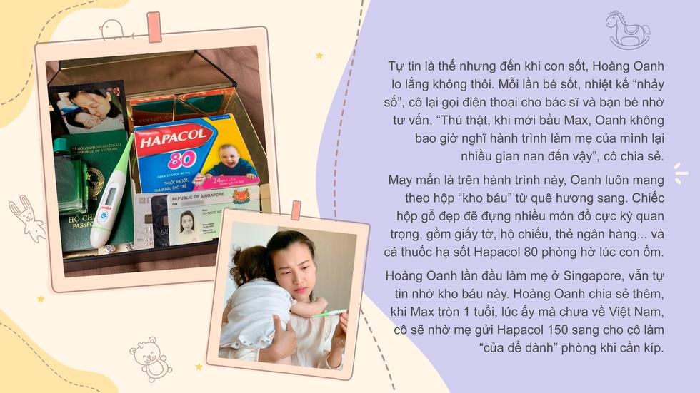 Á hậu Hoàng Oanh trải lòng về cảm xúc lần đầu làm mẹ - Ảnh 2.
