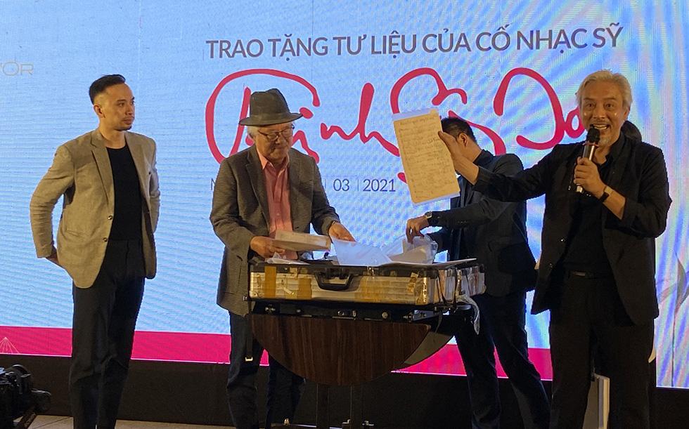 1.000 ảnh và hiện vật quý về Trịnh Công Sơn lần đầu tiên công bố sau 26 năm - Ảnh 1.