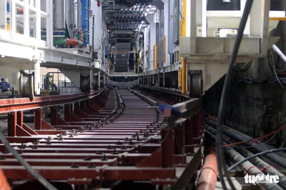 Chạy thử robot Táo bạo khoan hầm metro Nhổn - ga Hà Nội - Ảnh 2.