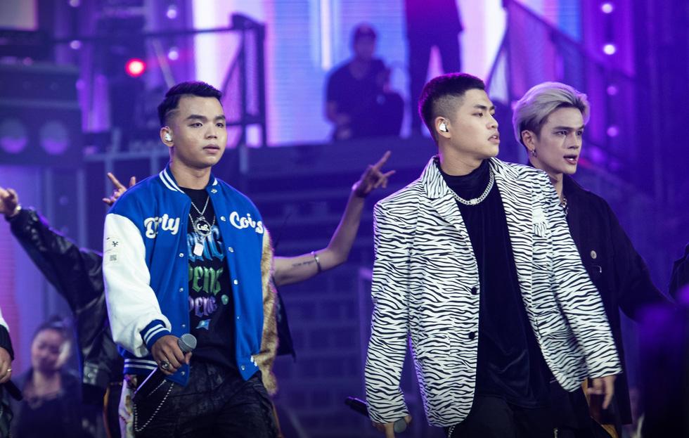 Rap Việt All-Star: Liên hoan hoành tráng hơn là concert cho một chặng đường - Ảnh 7.
