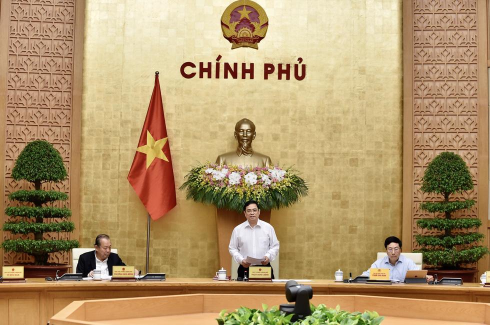 Chùm ảnh Thủ tướng Phạm Minh Chính chủ trì phiên họp Chính phủ - Ảnh 1.