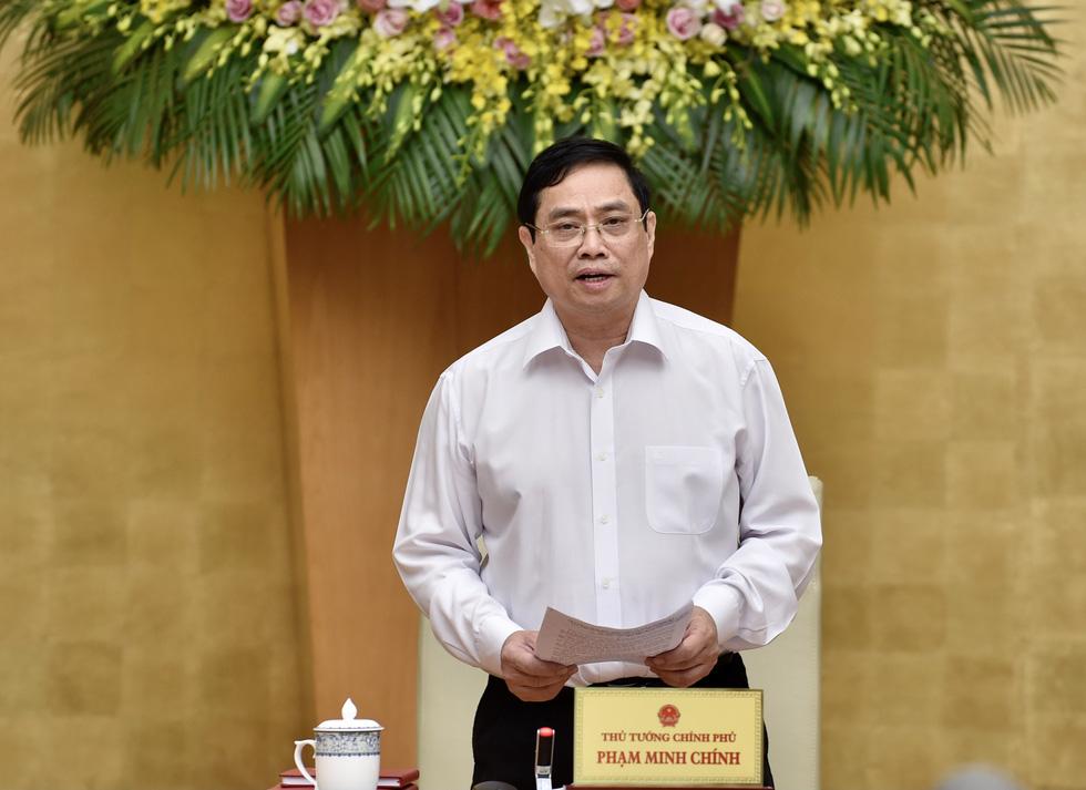 Chùm ảnh Thủ tướng Phạm Minh Chính chủ trì phiên họp Chính phủ - Ảnh 3.
