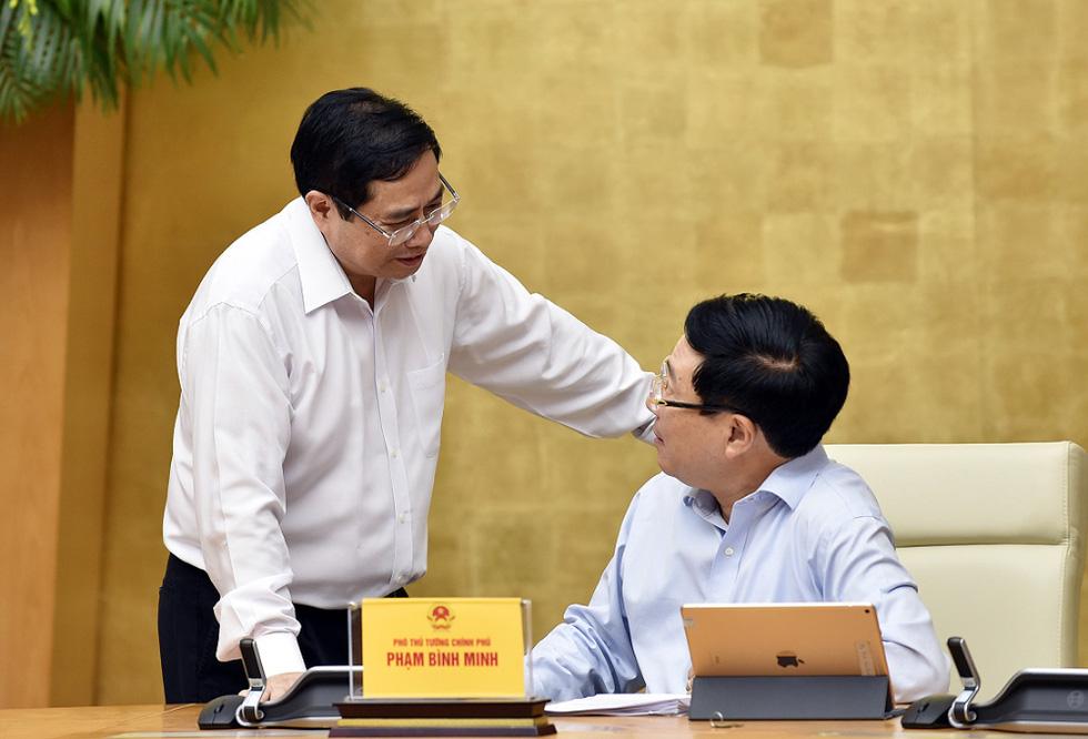 Chùm ảnh Thủ tướng Phạm Minh Chính chủ trì phiên họp Chính phủ - Ảnh 5.
