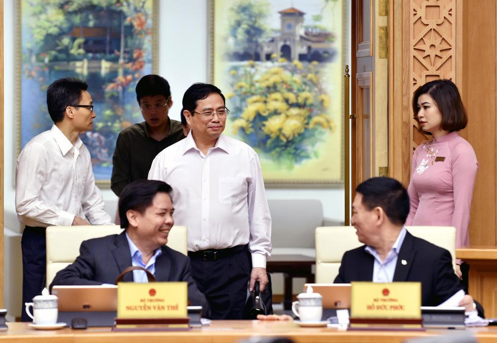 Chùm ảnh Thủ tướng Phạm Minh Chính chủ trì phiên họp Chính phủ - Ảnh 6.