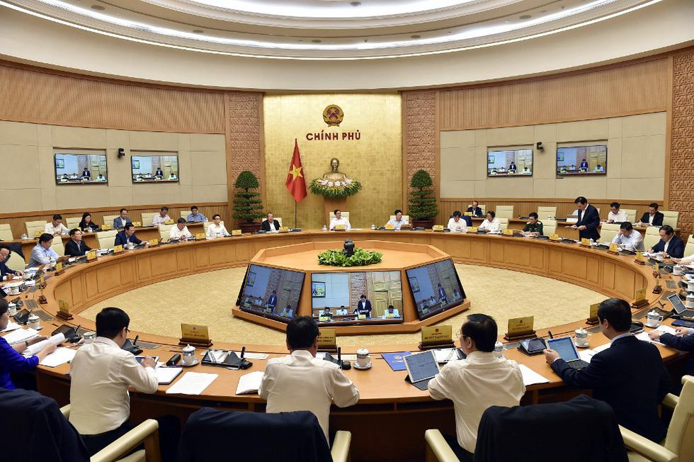 Chùm ảnh Thủ tướng Phạm Minh Chính chủ trì phiên họp Chính phủ - Ảnh 9.