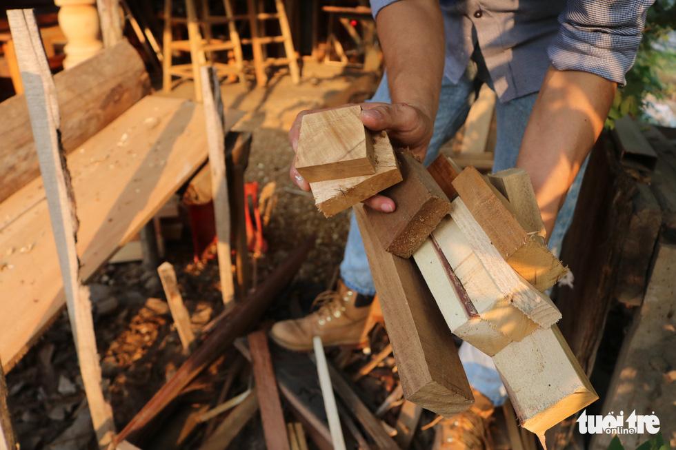 Chàng trai 9X nhặt gỗ vụn, kiếm tiền từ mô hình nhà mini siêu cưng - Ảnh 3.