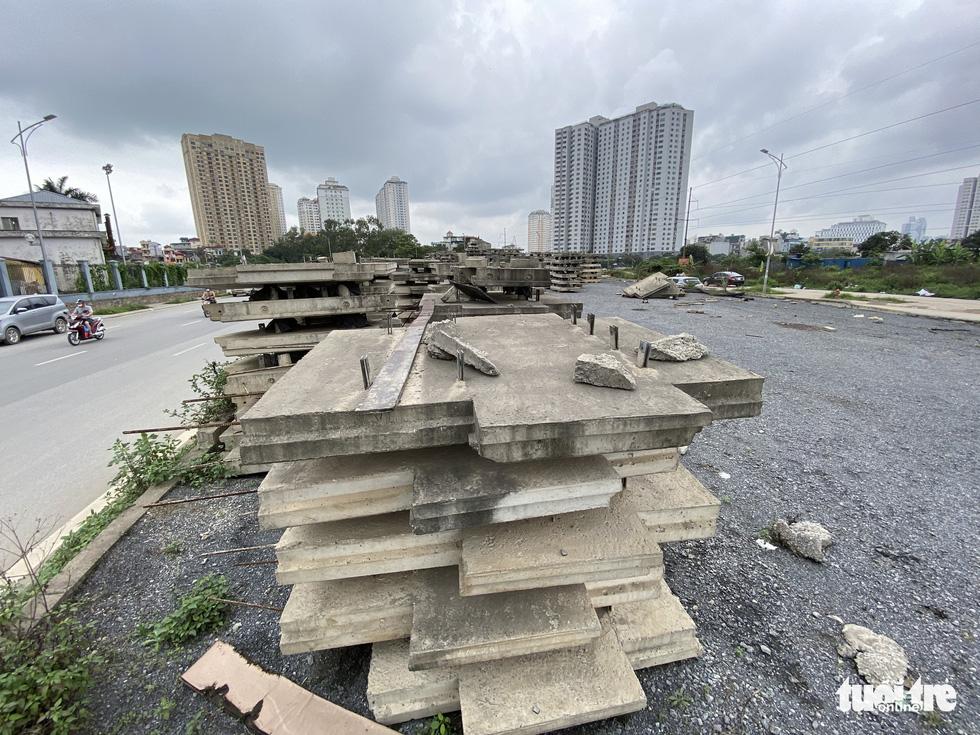 Dự án BT đại lộ Chu Văn An dở dang nhiều năm giờ lột lên làm lại - Ảnh 7.
