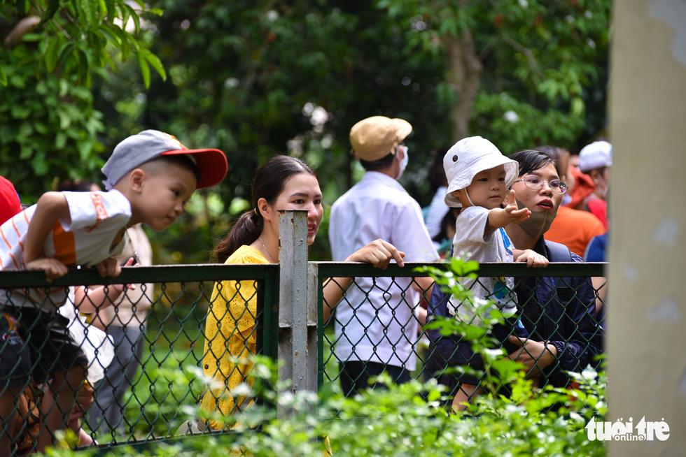 Đông nghịt người xếp hàng chờ mua vé vào Thảo cầm viên Sài Gòn - Ảnh 10.