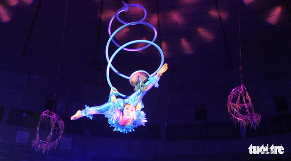 Thót tim xem nghệ sĩ mạo hiểm ở cuộc thi Tài năng xiếc toàn quốc 2021 - Ảnh 3.