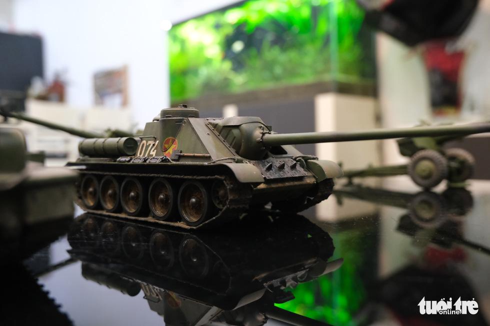 Choáng với mô hình cực kỳ chất mô tả khí tài quân sự tham gia chiến dịch Hồ Chí Minh - Ảnh 8.