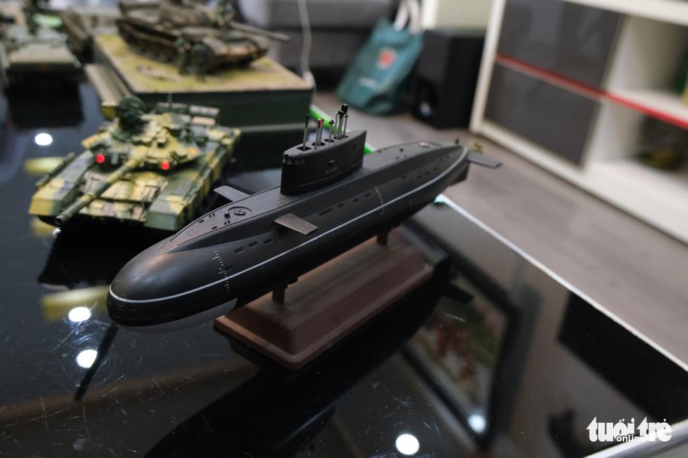 Choáng với mô hình cực kỳ chất mô tả khí tài quân sự tham gia chiến dịch Hồ Chí Minh - Ảnh 11.
